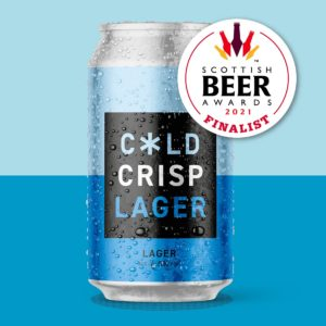 Cold Town Beer Lager Cans Buy Online Scottish Beer Awards Finalist