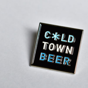 Cold Town Beer Badge