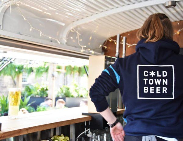Cold Town Beer Dark Blue Hoodie