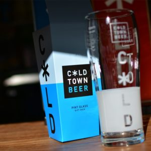Cold Town Beer Pint Glass