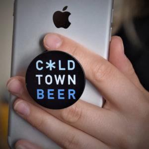 Cold Town Beer Pop Socket