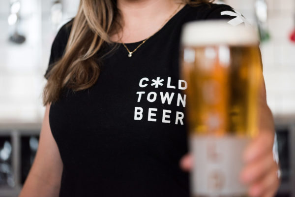 Cold Town Beer Black T Shirt