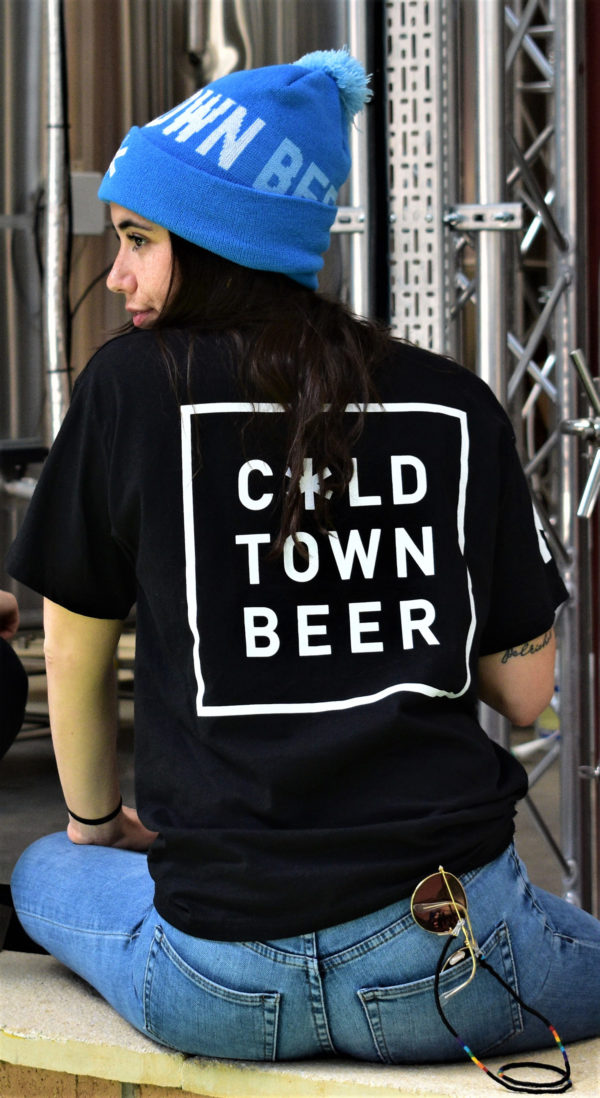 Cold Town Beer Black T Shirt and Beanie