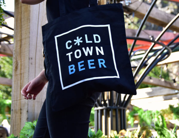Cold Town Beer Tote Bag