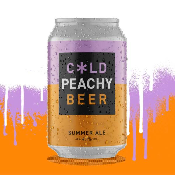 Cold Town Beer Peach Summer Ale