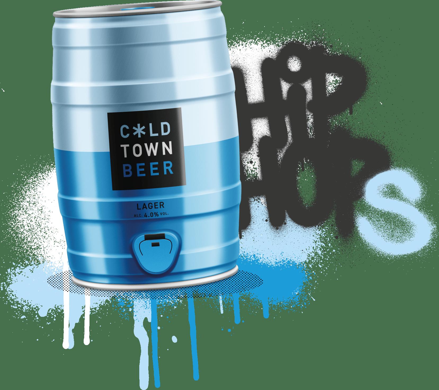Cold Town Beer Keg