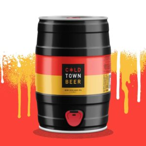 Cold Town Beer New England IPA 5L Mini Keg