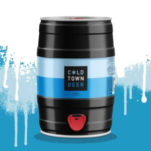 Cold Town Beer Lager 5L Mini Keg