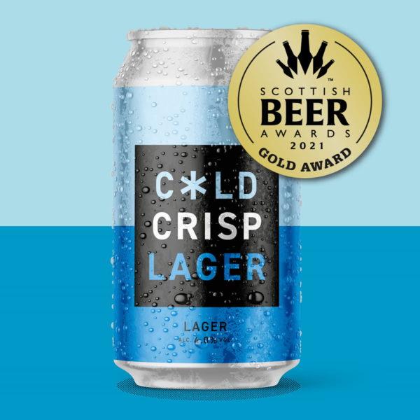 Cold Town Beer Lager Cans Buy Online Scottish Beer Award Winner