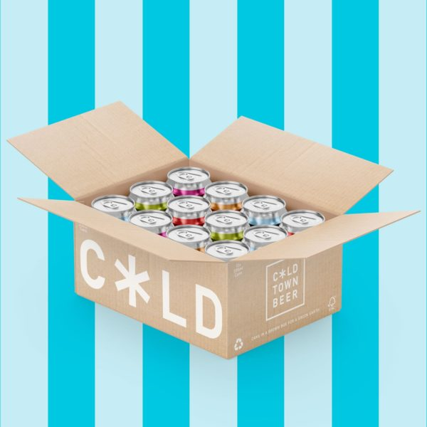 Cold Town Beer Pick and Mix (Mixed Case) 12 Pack Blue