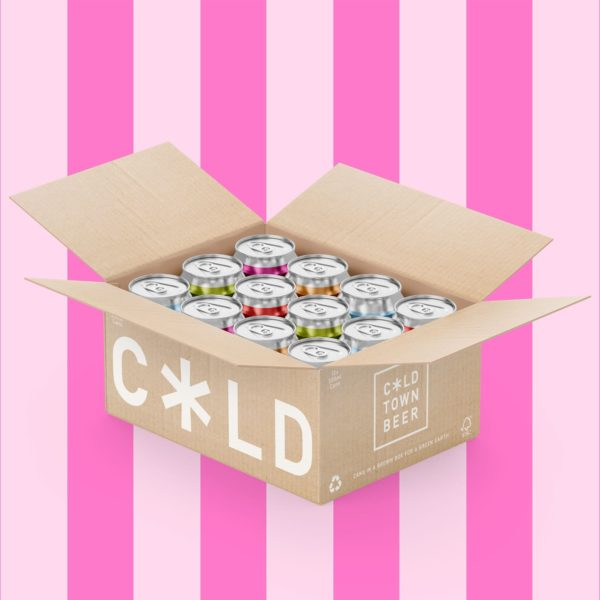 Cold Town Beer Pick and Mix (Mixed Case) 12 Pack Pink