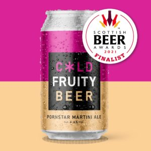 Cold Town Beer Pornstar Martini Ale Cans Buy Online Scottish Beer Awards Finalists