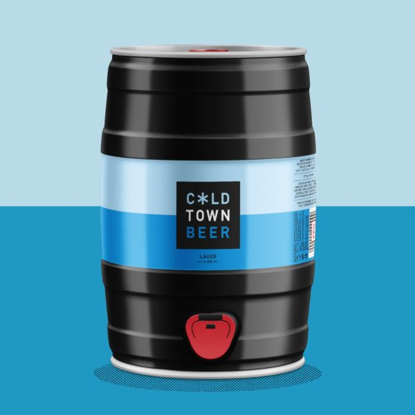 Cold Town Lager Mini Keg 5L