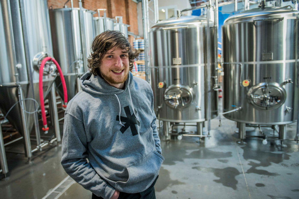 Cold Town Beer's head brewer Ed Evans