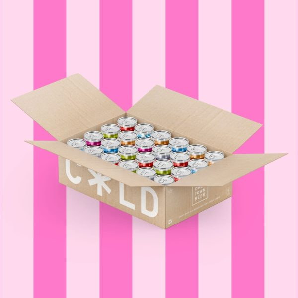Cold Town Beer Pick and Mix (Mixed Case) 24 Pack Pink