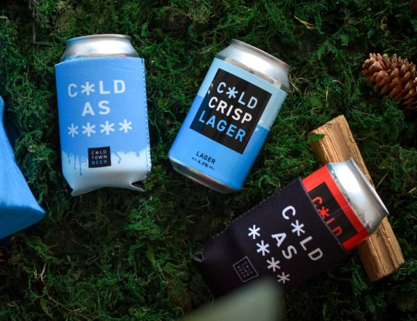 Buy Cold Town Beer Can Cosies 330ml