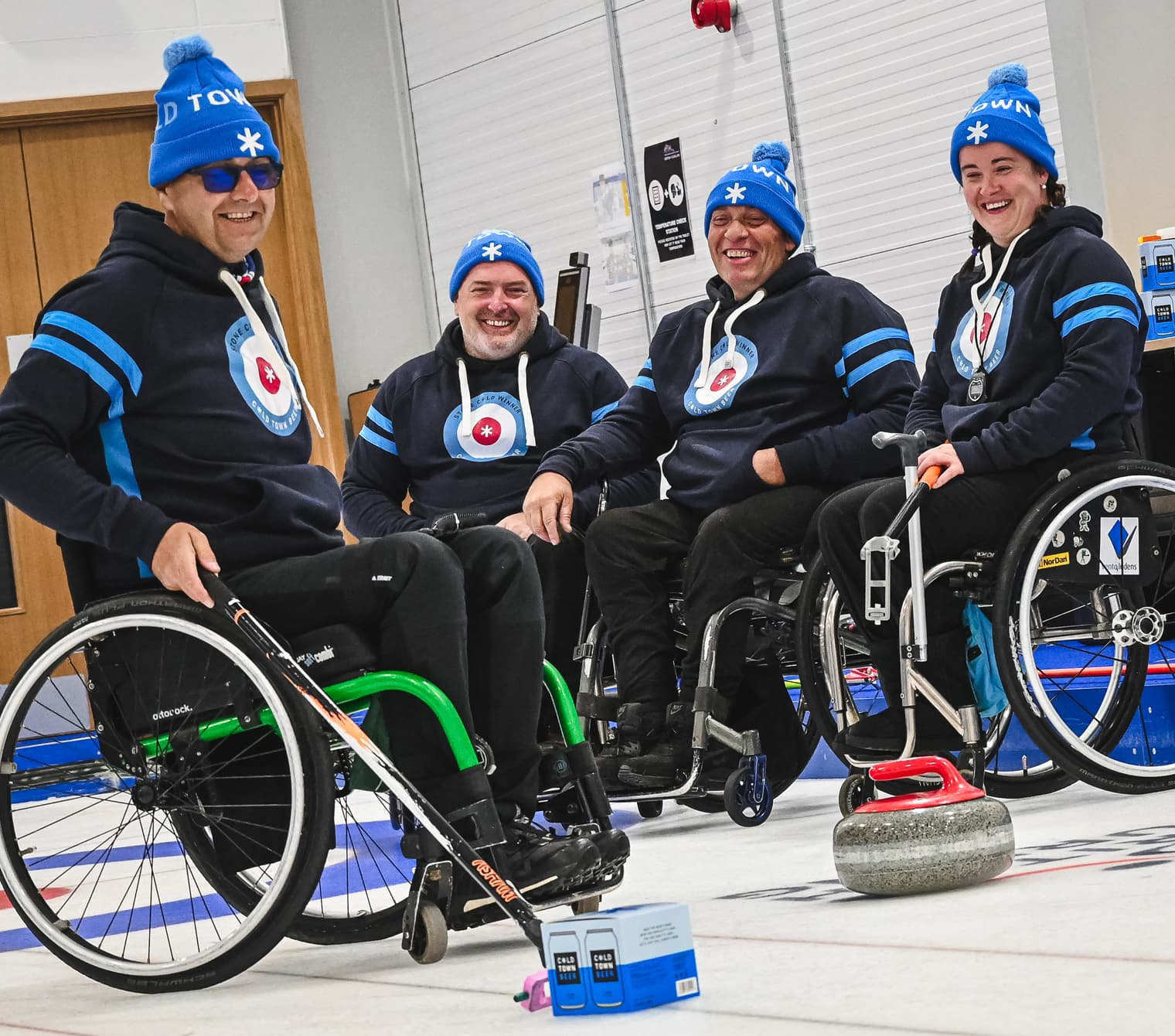 Cold Town Beer Official Sponsors of British Paralympic Curling