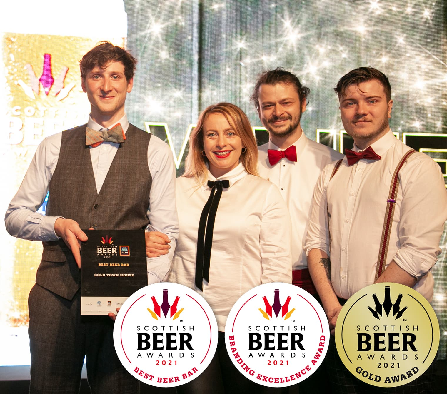 Cold Town Beer Scottish Beer Award Winners 2021